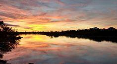 Céu nas águas no rio Mutum na @pantaneropantanal  Pantanal de Mimoso #valerio2017 #pantanal #sunset #matogrosso #rio #nofilter #brazil #ecologia #enviroment #ouro #nature #river #travel #adventure #aventura #sky #clouds #landscape #reflex #photography #x
