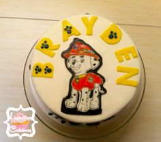 Paw Patrol cake by Legendary Confectionery