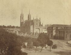 FOTOS ANTIGUAS DE MADRID - VISTA DE SAN JERÓNIMO