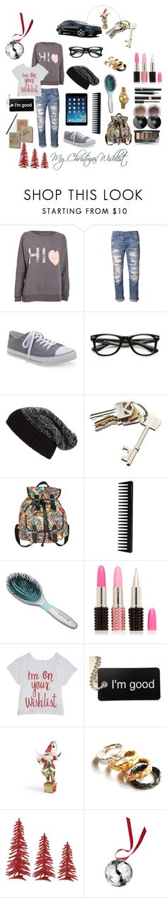 """""""My Christmas Wish List"""" by kitty1255 ❤ liked on Polyvore featuring NSF, Aéropostale, ZeroUV, Tarnish, Samsung, CB2, Marvel, GHD, Chanel and Forever New"""