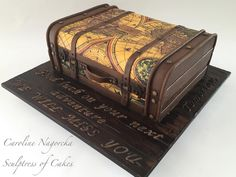 Caroline Nagorcka - Sculptress of Cakes