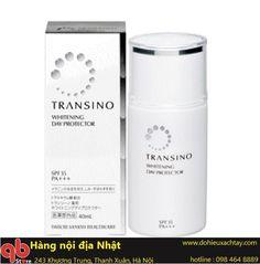 Kem chống nắng, dưỡng trắng da Transino Whitening Day Protector SPF35