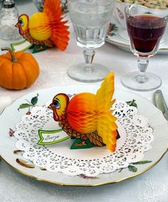 Thanksgiving Day Table decoration