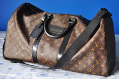 Louis Vuitton Waterproof Keepall 55