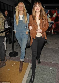 Dakota Johnson & Ruby Stewart