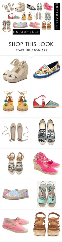 """Bez naslova #75"" by ellma94 ❤ liked on Polyvore featuring Soludos, WithChic, Dolce&Gabbana, Aquazzura, Lilly Pulitzer, Moschino and Salvatore Ferragamo"