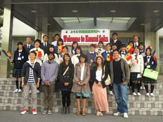 High school students are invited to attend Soka University's Study Abroad Fair on Thursday, Sept. 13th from 7-8 pm in the Soka Bistro (dining hall). 62 SUA students who returned from Spring 2012 study abroad around the world will be there to present and answer questions. This photo shows SUA students (front row) who visited Kansai Soka High School during their study abroad to Japan in Spring 2012. www.soka.edu/studyabroad