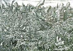 """Hoy, 1 de noviembre de 2015 se cumple el 260 aniversario del suceso que sacudiría gran parte de la fachada atlántica europea, y que se conocerá como """"El Terremoto de Lisboa"""". Mucho se ha escrito so..."""