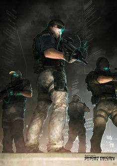 Ghost Recon Future Soldier Official Art #3 by DarkApp