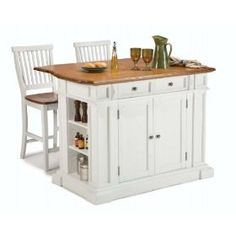 Home Styles 5002-948 Stools Kitchen Island.  List Price: $1073.88  Sale Price: $795.47  Savings: 26%