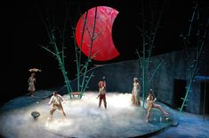 A Midsummer Night's Dream. Pioneer Theatre Company. Set design by Peter Harrison. www.livedesignonline.com
