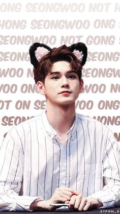 Ong Seongwoo wallpaper edit | Credit: @stphn_d | #wannaone