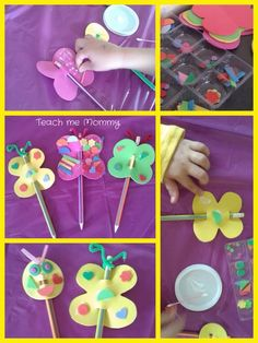 Craft Foam Pencil Toppers