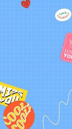 Pop Art Wallpaper, Cute Pastel Wallpaper, Iphone Wallpaper App, Iphone Wallpaper Tumblr Aesthetic, Collage Background, Retro Background, Background Patterns, Hd Cute Wallpapers, Cute Backgrounds