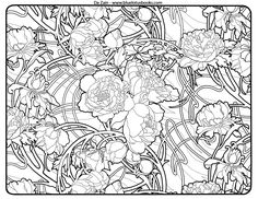 Free Coloring Pages from Adult Coloring Worldwide. Art brought to you by Da Zain of Blue Lotus Books.