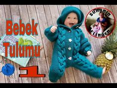BEBEK TULUMU YAPILIŞI - 1 (ÖRGÜ) - YouTube Baby Bunting, Amigurumi Doll, Crochet Dolls, Baby Knitting, Dinosaur Stuffed Animal, Make It Yourself, Teddy Bear, Clothes, Couture