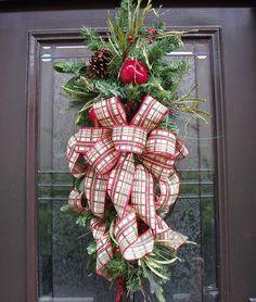 Christmas Swag Williamsburg Wreath Fruit Swag Williamsburg Style Teardrop Fall Swag