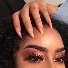 makeup, nails, and eyebrows image Makeup Goals, Love Makeup, Makeup Inspo, Makeup Inspiration, Makeup Tips, Makeup Ideas, Makeup On Fleek, Flawless Makeup, Skin Makeup
