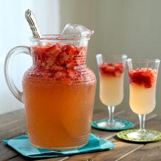 How to Strawberry ginger lemonade