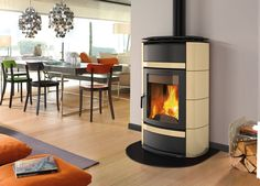La Nordica Norma 'S' Idro DSA Wood Burning Boiler Stove From Fireplace Products