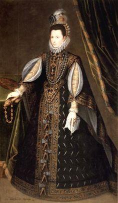 1585-1591 Catalina Micaela, Duquesa de Saboya - Museo de la Fundación Lázaro Galdiano. Anónimo.