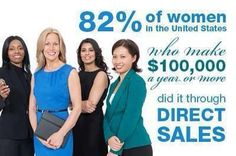 Stay at home moms aren't the only ones loving Direct Sales! Many business women walk away from lucrative careers to build huge teams and rake in the cash!
