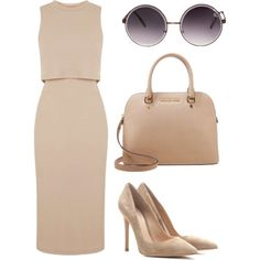 blending in by ilyb4u on Polyvore featuring polyvore fashion style Topshop Gianvito Rossi MICHAEL Michael Kors Quay