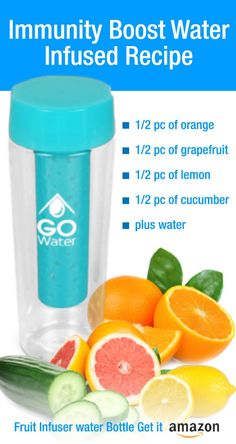 Immunity Boost Water Infused Recipe - #healthy: