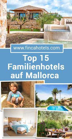 Urlaub auf Mallorca - egal ob Ferien am Meer oder Bauernhofurlaub - wir haben die schönsten 15 Hotels für Familien auf Mallorca ausgewählt. Perfekt für den entspannten Familienurlaub auf Mallorca. #mallorca #urlaub #familienurlaub #urlaubmitkind #ferien #holiday