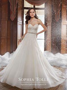 SOPHIA TOLLI Bridal Collection, Style Y21503 - Peyton.