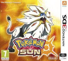 Pokemon Sun game cover. Can't wait till November 18, 2016.
