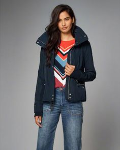 Womens Outerwear & Jackets New Arrivals | Abercrombie.co.uk