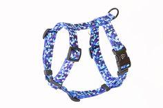 GESCHIRR GUARD 'SHINE IN BLUE' HARNESS GUARD Personalized Items, Blue, Dog Accessories