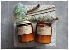 PF Candle Co candles - part of top 5 brilliantly branded handmade candles ! Strong Scented Candles, Homemade Scented Candles, Mason Jar Candles, Diy Candles, Soy Wax Candles, Candle Branding, Candle Packaging, Candle Labels, Perfume Diesel