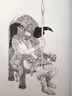 Odin by Thore Hansen