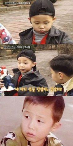 G-Dragon as a child. #kpop