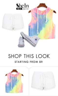 """""""Untitled #2"""" by klara43 ❤ liked on Polyvore featuring Topshop and Converse"""