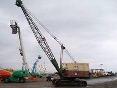Mining Equipment, Heavy Equipment, Operating Engineers, Bucyrus Erie, Crawler Crane, Construction Business, Caterpillar, Career, Plant