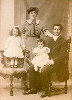 Black History Month: There was a black family aboard the Titanic: Joseph Laroche, a Haitian-born, French-educated engineer died in 1912 when the Titanic sank in the Atlantic. His pregnant wife and two daughters survived. A son Joseph was born later that year.