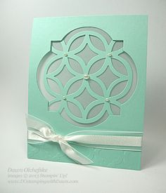 stampin up, dawn olchefske, how to video