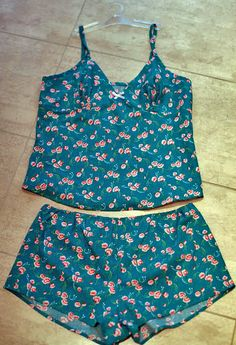 Julie's Fifi pyjama set - sewing pattern by Tilly and the Buttons
