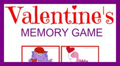 Valentine's Day Themed Memory Game - A Diligent Heart