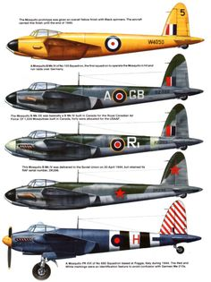"De Havilland DH.98 ""Mosquito"""