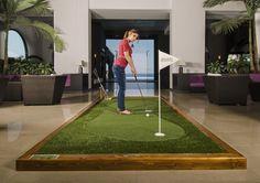 Golf In nella Hall del tuo Hotel.#golfin  #greemakers #hotelsantateclapalace #hotel #acireale #sicily #golf