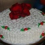 bolos decorados passo a passo
