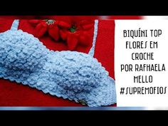 Knitting Videos, Crochet Videos, Crochet Crop Top, Knit Crochet, Crochet Diagram, Crochet Patterns, Bikinis Crochet, Skirt Tutorial, Jacket Pattern