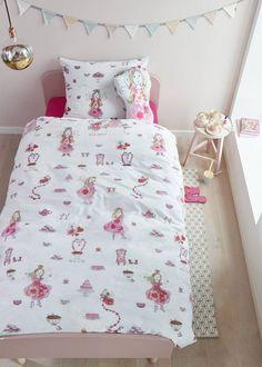 BEDDINGHOUSE Kids dekbedovertrek Beddinghouse Kids Birthday Fairy Pink