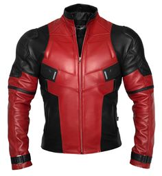 Deadpool Inspired Motorcycle Jacket