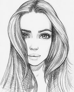 Drawing Portraits - Me encanta Discover The Secrets Of Drawing Realistic Pencil Portraits.Let Me Show You How You Too Can Draw Realistic Pencil Portraits With My Truly Step-by-Step Guide. Realistic Drawings, Art Drawings Sketches, Easy Drawings, Pencil Drawings, Amazing Drawings, Pretty Drawings, Girl Drawings, Drawing Poses, Painting & Drawing