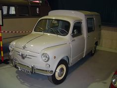 Fiat Delivery or perhaps a camper?... ;-)
